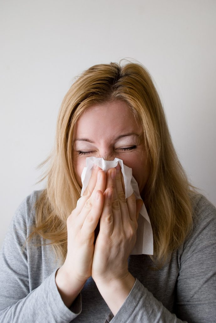 Krank Schnupfen Erkältung